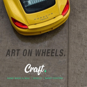 art on wheels; craft auto spa