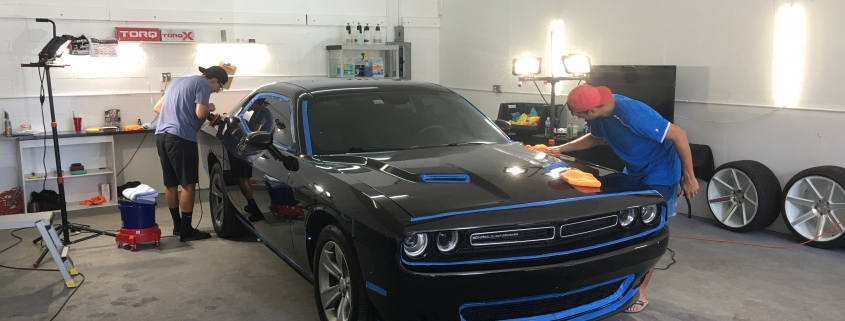 Stage 3 Pain Correction on a Dodge Challenger